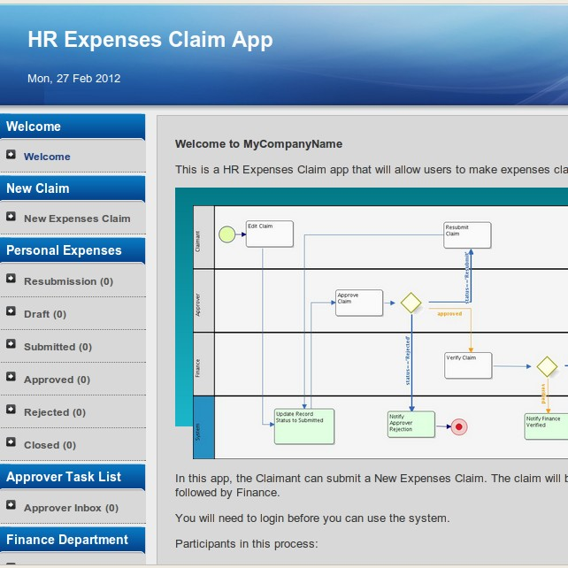 "<a href=""vad?id=hr-expenses-v1""><b>HR Expenses Claim</b><br/><br/>